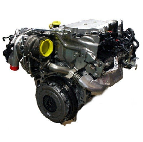 2002 Saab 43594 Transmission: Complete Engine For Saab 9.3 II 2.8 Turbo V6 B284 AWD