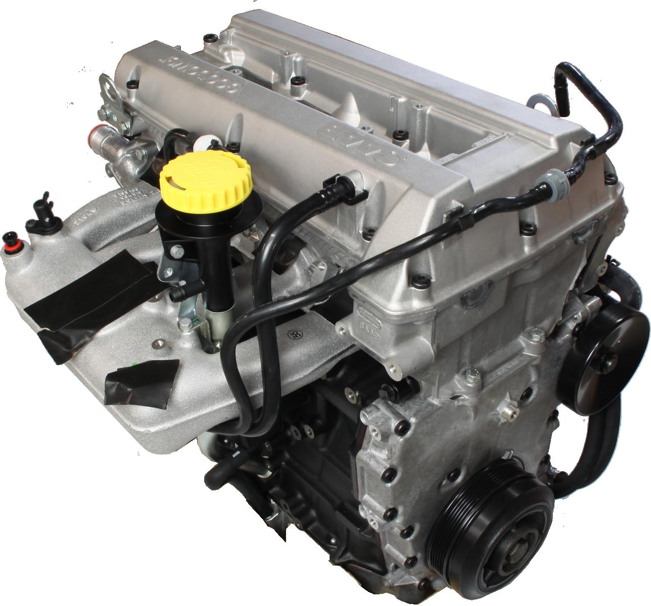 2002 Saab 43594 Transmission: Complete Longblock Engine For Saab 9.5 2.0 Turbo 150 Hp